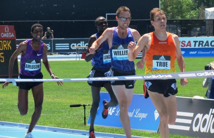 New York Diamond League - adidas Grand Prix - CANCELED - News - Epic Win By  Ben True In 5000m Highlights adidas Grand Prix - RRW